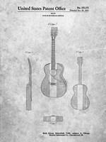 Guitar or Similar Article Patent Fine Art Print