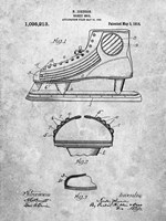 Hockey Shoe Patent Fine Art Print