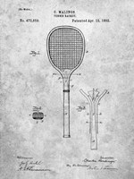 Tennis Racket Patent Fine Art Print