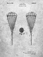Lacrosse Racquet Patent Fine Art Print