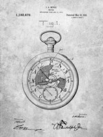 Watch Patent Fine Art Print