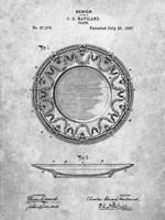 Haviland Plate Patent Fine Art Print
