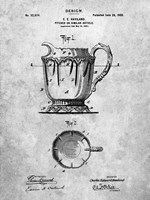 Pitcher or Similar Article Patent Fine Art Print