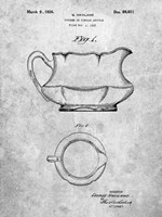 Haviland Pitcher or Similar Article Patent Fine Art Print