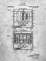 Bread Toaster Patent Fine Art Print