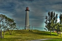 Lighthouse with Red Top Fine Art Print