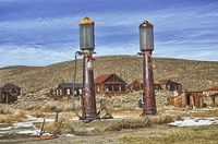 Old Gas Station Fine Art Print