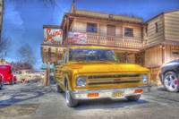 Yellow Pick Up Fine Art Print