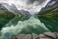 Norway- Mountain Landscape Fine Art Print