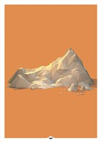 Low Poly Mountain 2 Fine Art Print
