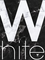 White Marble Fine Art Print