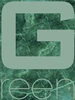 Green Marble Fine Art Print