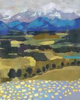 Alpine Impression II Fine Art Print