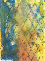 Spring Lattice II Framed Print