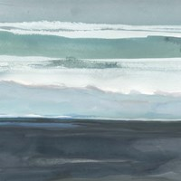 Teal Sea I Fine Art Print