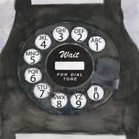 Phoning I Fine Art Print