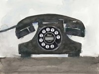 Phoning II Fine Art Print