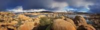 Lake Canyon View IV Framed Print