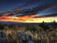 Sunset in the Desert IV Fine Art Print