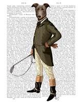 Greyhound Rider Fine Art Print