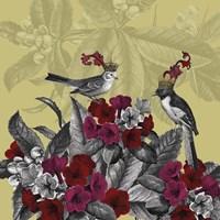 Blooming Birds, Azalea, Fine Art Print Fine Art Print