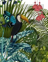 Toucan in Tropical Forest Fine Art Print
