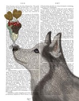 Husky Ice Cream Fine Art Print