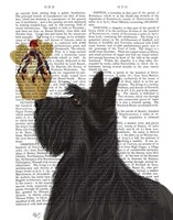 Scottish Terrier Ice Cream Fine Art Print