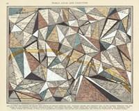 Modern Map of Paris Fine Art Print