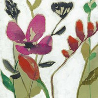 Vivid Flowers I Fine Art Print