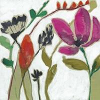 Vivid Flowers II Framed Print