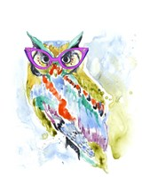 Smarty-Pants Owl Framed Print