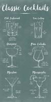 Mixology Infograph Fine Art Print