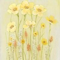 Soft Spring Floral I Framed Print