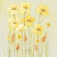 Soft Spring Floral II Framed Print
