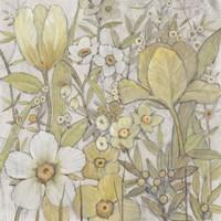 Mix Floral II Framed Print