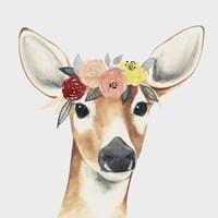 Flower Crown Forester I Fine Art Print