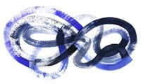 Blue Kinesis I Framed Print
