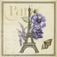 Paris Ephemera VI Fine Art Print