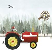 Country Santa II Fine Art Print