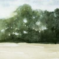 Loose Landscape II Framed Print
