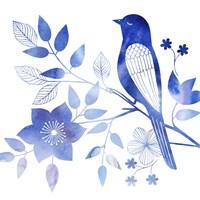 Avian Twilight I Framed Print