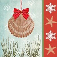 Christmas Coastal I Fine Art Print