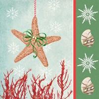 Christmas Coastal III Fine Art Print