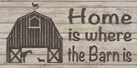 Home & Farm III Framed Print