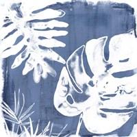 Tropical Indigo Impressions IV Framed Print