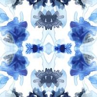 Blue Kaleidoscope II Framed Print