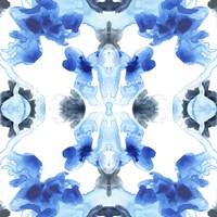 Blue Kaleidoscope IV Fine Art Print