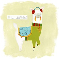 Fa-la-la-la Llama III Fine Art Print