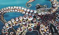 Wild Octopus I Fine Art Print